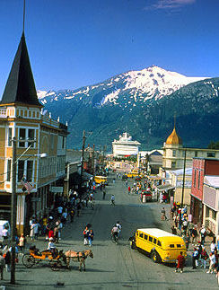 Skagway City and White Pass Summit
