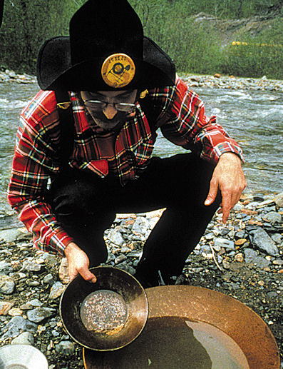 Gold Panning &  Salmon Bake