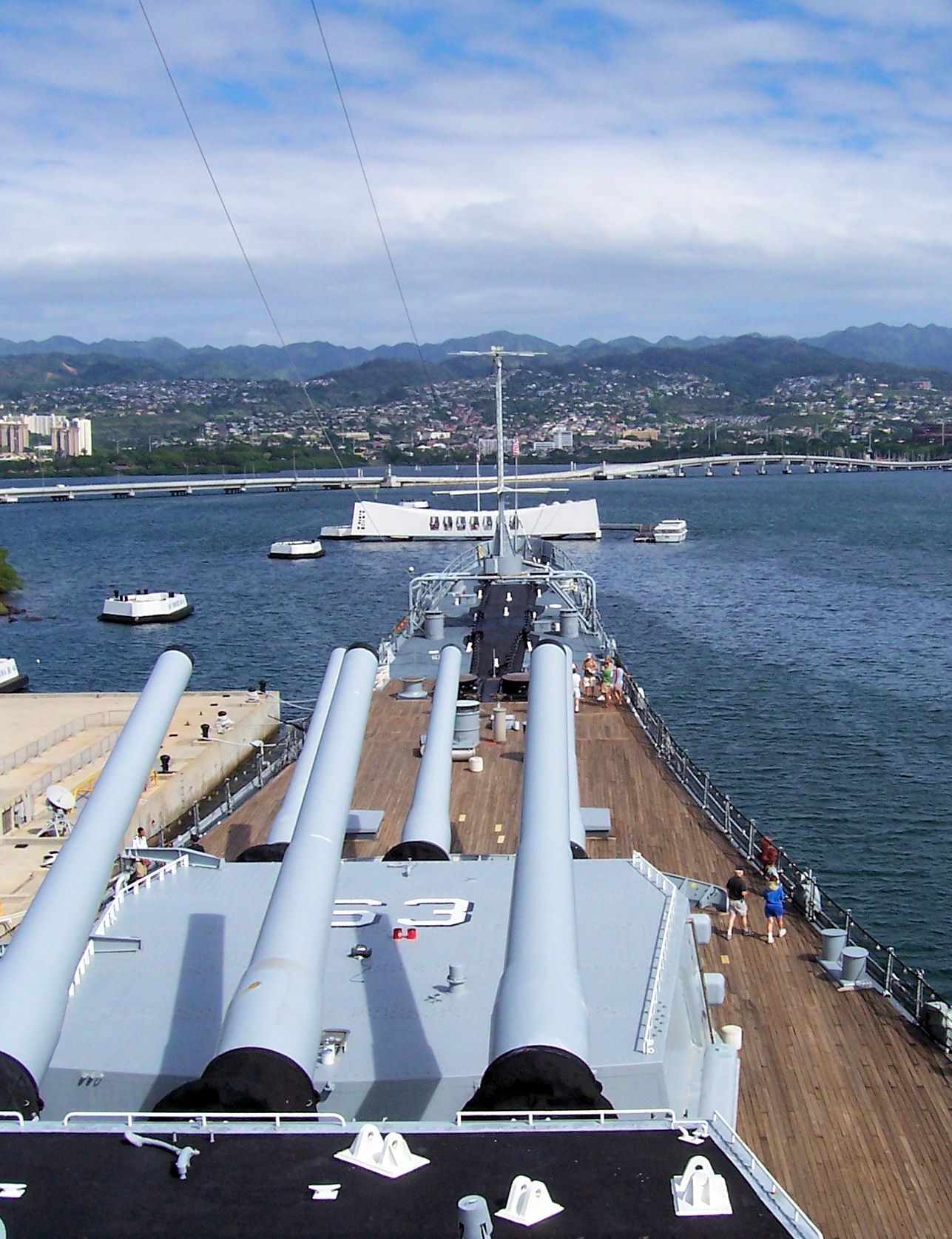Honolulu City Highlights & Pearl Harbor with a drop at the airport