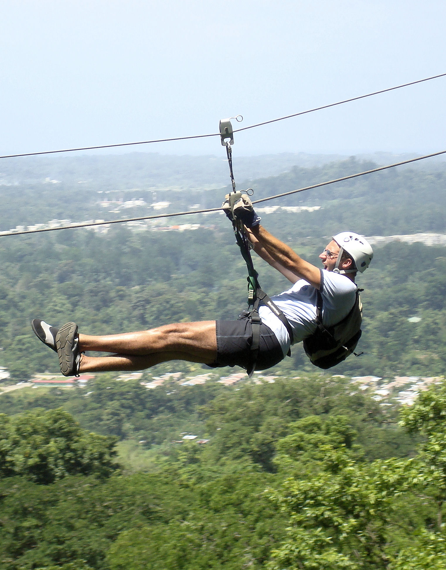 Zip Line Canopy Tour and Banana Plantation