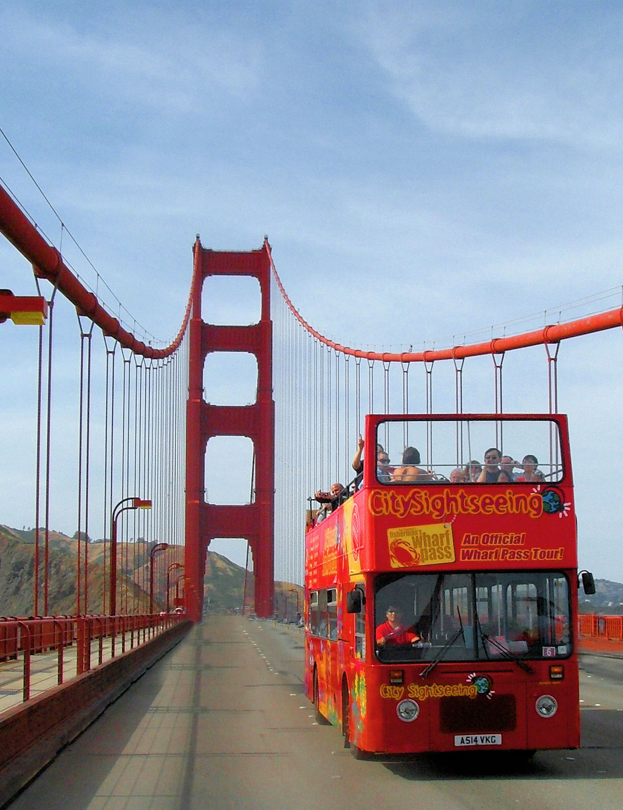 Double-Decker Golden Gate Loop