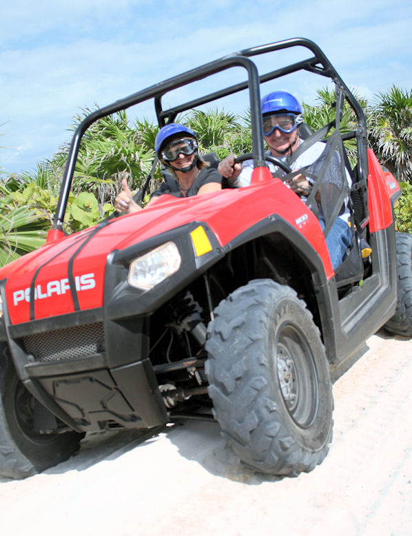 Cozumel Razor Extreme Off-Road & Beach Tour
