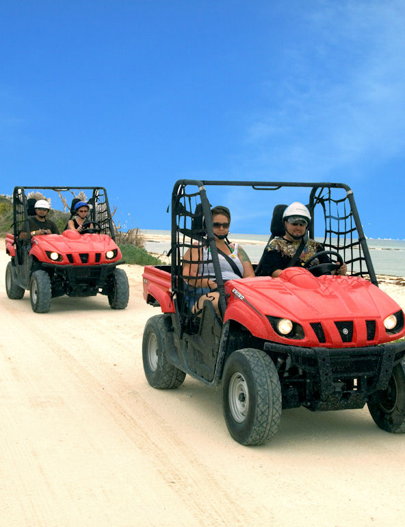 Cozumel   Mini Jeep & Snorkel Tour
