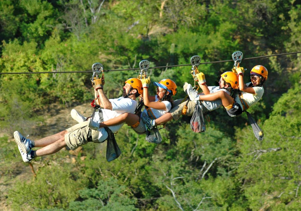 Monster Zip Lines
