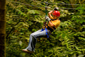 A Zip Line Adventure and More!