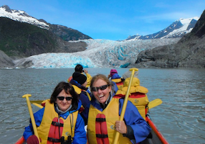 Mendenhall Lake Canoe Adventure