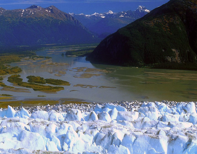 5 Glacier Flightseeing via Floatplane