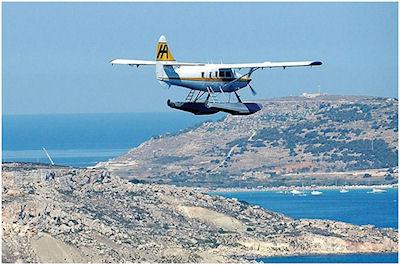 Sea Plane over Malta