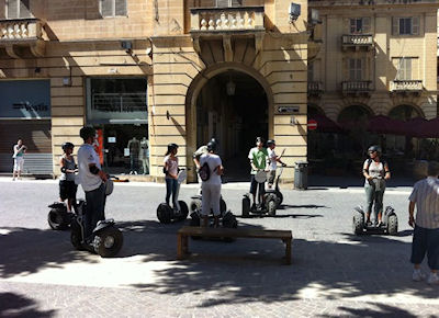 Segway Tour of Valletta