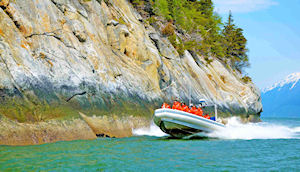 Ocean Raft in Skagway