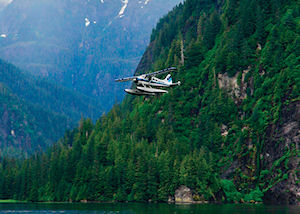 Misty Fjords Boat and Floatplane Wilderness Adventure