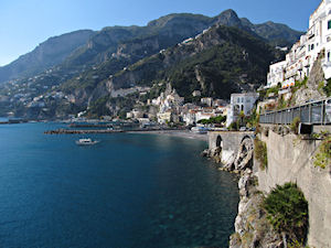 Private Amalfi Coast and Pompeii