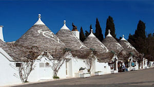 Roofs and History of Alberobello