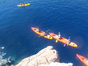 Sea Kayaking & Snorkeling at Brela