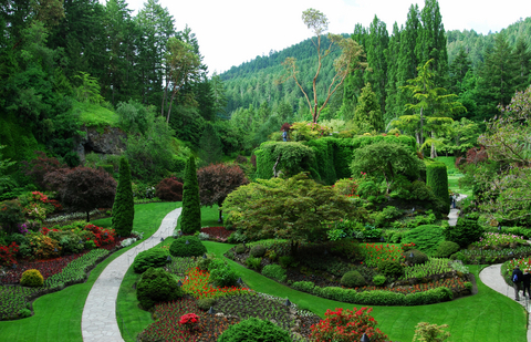 Best Butchart Gardens Express Shore Excursion At Victoria Alaska Pacific Coast