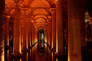 Istanbul City Tour with Underground Cisterns Private for 2 Passengers