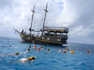 Pirate Ship Snorkel, Lunch, and Party